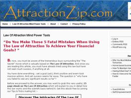 Go to: Hot Selling Law Of Attraction Mind Power Tools