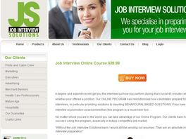 Go to: The Essential Job Interview Coaching Online Course