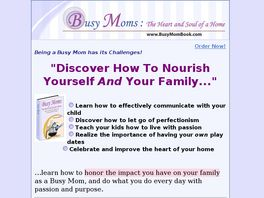 Go to: Busy Moms: The Heart And Soul Of A Home