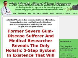 Go to: High Converting! Gum Disease Cure! - !truth About Gum Disease