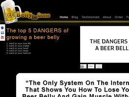 Go to: Beer Belly Be Gone.com - Lose The Beer Belly, Not The Beer.