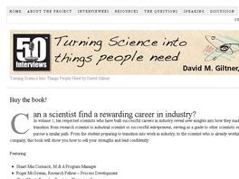 Go to: Turning Science Into Things People Need