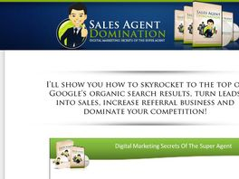 Go to: Sales Agent Domination: Digital Marketing Secrets Of The Super Agent