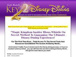 Go to: Key 2 Disney Dining