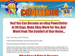 Go to: The 90 Day Powerseller Challenge