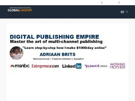 Go to: Digital Publishing Empire: The Leader In Adsense Coaching