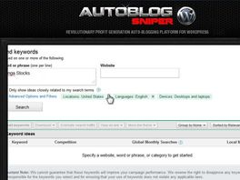Go to: Autoblog Sniper - Site For Sale