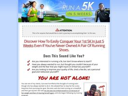 Go to: Run A 5k In 5 Weeks