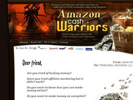 Go to: Adsense Killing Affiliate Warriors Launch Oct 31, 2010