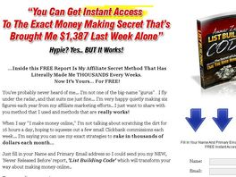 Go to: New Product-Massive Conversion! Affiliate Top Secret by Ammar Zahar