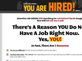 Go to: Get $35/sale! Clearly The Best Job Interview Product! Massive Niche!