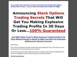 Go to: Huge Profits Options Trading