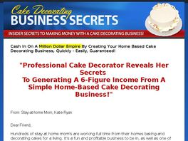 Go to: Cake Decorating Business Secrets