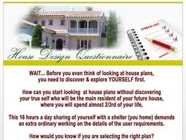 Go to: Explore Yourself Before Selecting The House Plan
