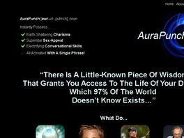 Go to: Aurapunch: The Blueprint To Forge A Life-changing Alter Ego