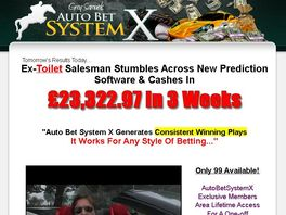 Go to: New::: Auto Bet System X & The Machine...