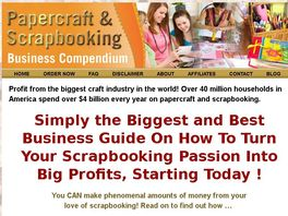 Go to: Papercraft And Scrapbooking Business Compendium