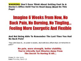 Go to: Ultimate Back Pain Secret