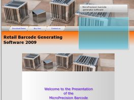 Go to: MicroPrecision Barcode Generator.