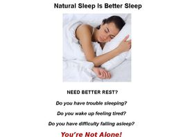 Go to: Natural Sleep Remedies ~ 50% Commission ~.