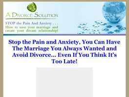 Go to: A Divorce Solution.
