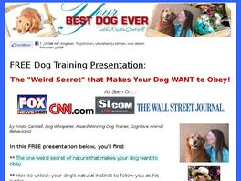 Go to: Your Best Dog Ever - Make $79 Per Sale!