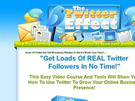 Go to: Learn To Get Loads Of Real Twitter Followers!
