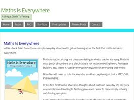 Go to: Maths Is Everywhere