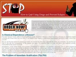 Go to: How to Quit Using Drugs and Prevent Relapse