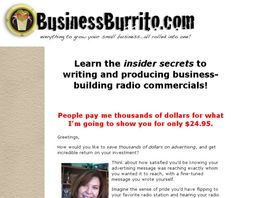 Go to: Insider's Guide To Writing And Producing Radio.