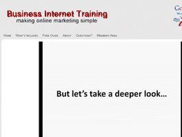 Go to: Business Internet Training