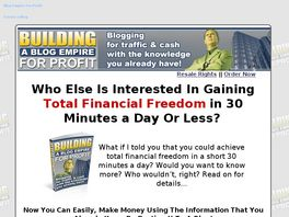 Go to: Building A Blog Empire For Profit.