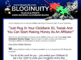 Go to: Bloginuity - Monthly CB Product Review Blogs