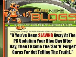 Go to: Auto Niche Blogs - Affiliates Earn 50% Commissions