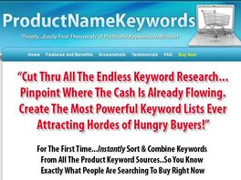 Go to: Product Name Keywords