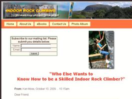 Go to: How To Build Your Own Rock Climbing Wall