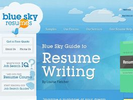 Go to: The Blue Sky Guide To Job Search