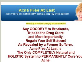 Go to: Acne Free At Last