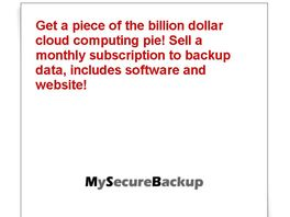 Go to: Cloud Computing Backup Solution with Membership Website