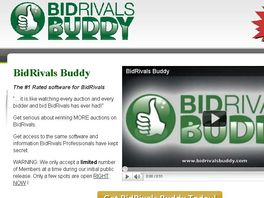 Go to: Bidrivals Buddy - #1 Rated Software For Bidrivals