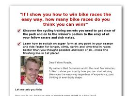 Go to: 50 Top Bike Racing Tips.