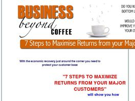 Go to: 7 Steps To Maximize Returns From Your Major Customers.
