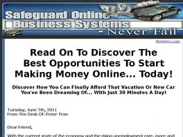 Go to: Safeguard Online Business Systems - Never Fail