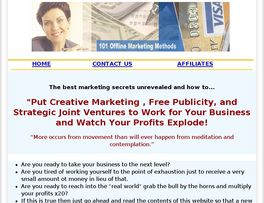 Go to: Offline Marketing Tips- The Best Marketing Info Pack.