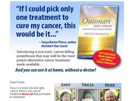 Go to: Outsmart Your Cancer: Alternative Non-toxic Treatments That Work