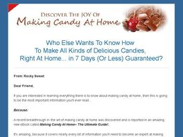 Go to: Making Candy At Home ~ The Ultimate Guide