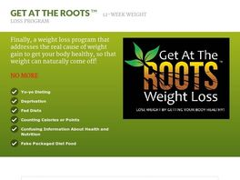 Go to: Get At The Roots 12-week Weight Loss Program