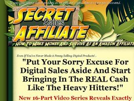 Go to: Secret Sales Affiliate - Earn 50% Commissions By Promoting