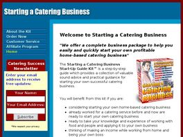 Go to: Starting A Catering Business.