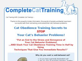 Go to: Kingdom Of Pets : Complete Cat Training.